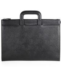 Saks Fifth Avenue - Portfolio Briefcase - Lyst