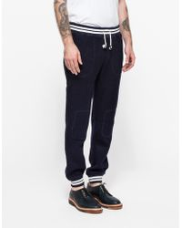 Band Of Outsiders Felted Fleece Sweatpant - Lyst