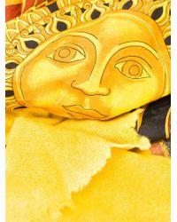 Avant Toi - Baroque Sun Print Scarf - Lyst