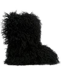 DSquared² | Artificial Fur Fluffy Boots | Lyst