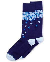 Joe's Jeans Confetti Geometric Crew Socks - Lyst