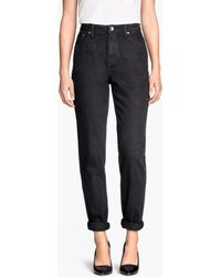 H&M Mom Jeans - Lyst