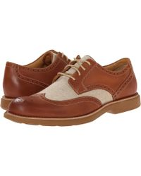 Sperry Top-sider Gold Bellingham Wingtip W/ Asv - Lyst
