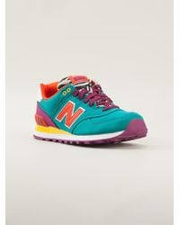 New Balance Pop Safari Trainers - Lyst