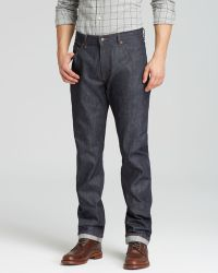 Raleigh Denim Jeans - Jones New Tapered In Raw Selvedge - Lyst