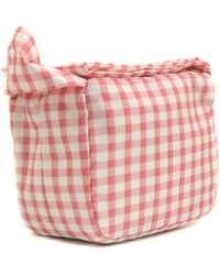 Carven - Small Bundle Vichy Bag - Lyst
