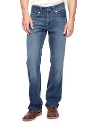 True Religion Hand Picked Straight Checkered Logo Mens Jean - Lyst