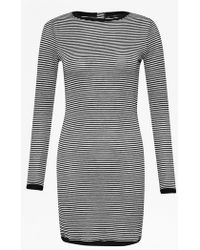 French Connection | Starzy Stripe Long Sleeve Dress | Lyst
