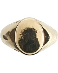 Cheap Monday - Signet Ring - Lyst