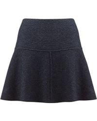 Jigsaw - Speckled Flippy Skirt - Lyst