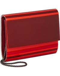 Barneys New York Mina Clutch red - Lyst