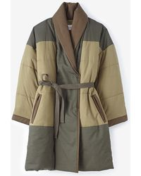 Etoile Isabel Marant Flor Quilted Coat - Lyst