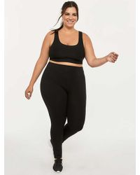 0305251bacedd Hue Ultra Leggings With Wide Waistband Plus Size in Black - Lyst