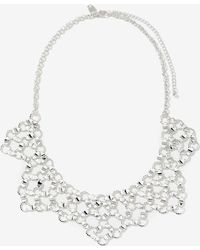 Addition Elle - 5-point Linked Bib Necklace - Lyst