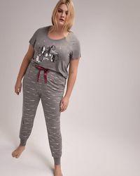 Addition Elle - Pajama Jogger - Déesse Collection - Lyst