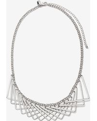 Addition Elle - Short Geometric Necklace - Lyst