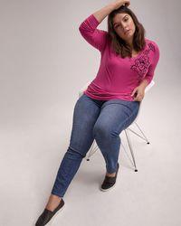 c74300f47f8 Addition Elle - Petite Slightly Curvy Straight Leg Jean - D c Jeans - Lyst