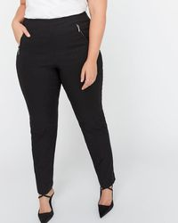 837491ba354c3 Addition Elle - Petite Modern Stretch Slim Leg Pant - Michel Studio - Lyst