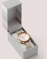 Addition Elle - Pink Duo Watch With Gift Box - Lyst