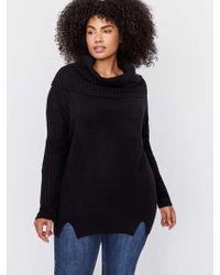 Addition Elle - Cowl Neck Sweater - L&l - Lyst