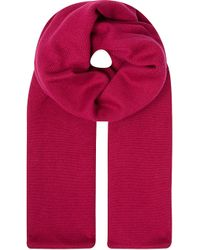 Burberry Burb Plain and Check Scarf - Lyst