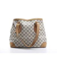 Louis Vuitton | Pre-owned Damier Azur Hampstead Mm Bag | Lyst