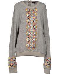Manish Arora Sweatshirt gray - Lyst