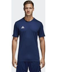 adidas Core 18 Training Jersey in White for Men - Lyst 988002f72