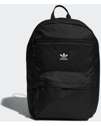 Lyst - adidas Originals Classic Camouflage Backpack in Black for Men 6fde7492b1e12