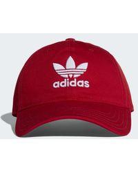 adidas - Trefoil Hat - Lyst