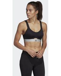 254c18aa21a9b adidas - Stronger For It Soft Bra - Lyst