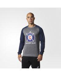 adidas - Columbus Crew Sc Ultimate Crew Sweatshirt - Lyst