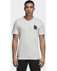adidas - Real Madrid Graphic Tee - Lyst