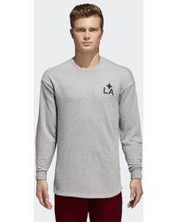 adidas - La Galaxy Tango Sweatshirt - Lyst