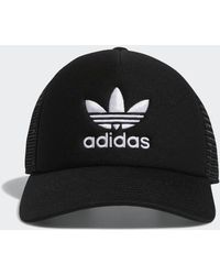 5bc6f047 adidas Emoji Snapback Hat in Black for Men - Lyst