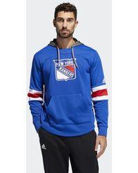 adidas - Rangers Platinum Jersey Hoodie - Lyst
