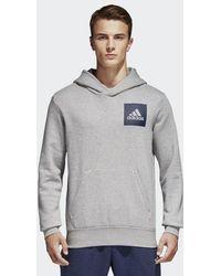adidas - Essentials Chest Logo Sweatshirt - Lyst