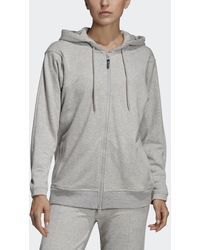adidas By Stella McCartney - Felpa con cappuccio Essentials - Lyst
