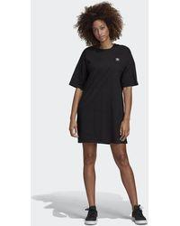 3b2f90c8b9c adidas Clrdo Dress in Black - Lyst