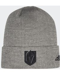 adidas - Golden Knights Team Cuffed Beanie - Lyst