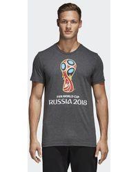 adidas - Fifa World Cup Emblem Tee - Lyst