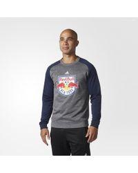 adidas - New York Red Bulls Ultimate Crew Sweatshirt - Lyst