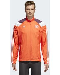 adidas - Boston Marathon® Celebration Jacket - Lyst