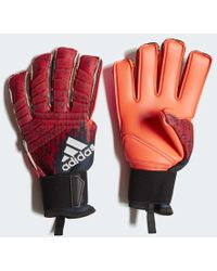dc519bf8914c Lyst - adidas Predator 18 Fingersave Pro Gloves in Black for Men