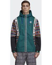713fd31398d5b Lyst - adidas Originals X Pharrell Williams Hu Hiking Half Zip ...