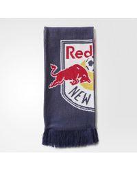 adidas - New York Red Bulls Jacquard Scarf - Lyst