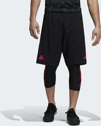 adidas - Short TAN Training - Lyst