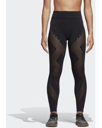 adidas - Warp Knit High-rise 7/8 Tights - Lyst