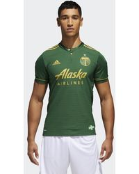 adidas - Timbers Home Authentic Jersey - Lyst