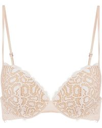 La Perla - Quartz Garden Eggshell Push Up - Lyst